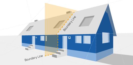 Party Wall illustration for Farnborough Surveyors